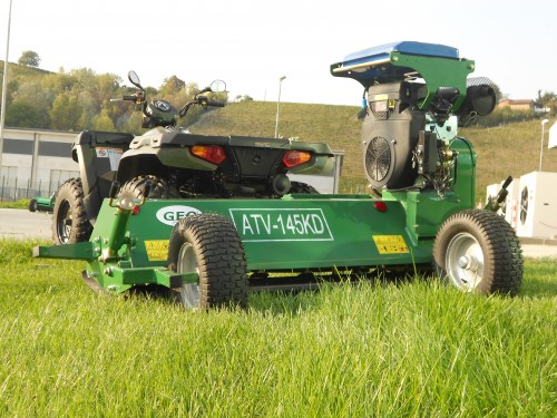 Geo Agric - Products - GEO - Flail mower for QUAD/ATV - Geo
