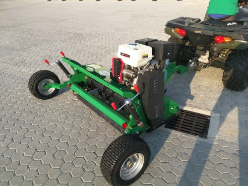 Geo Agric - Products - GEO - Flail mower for QUAD/ATV with hood